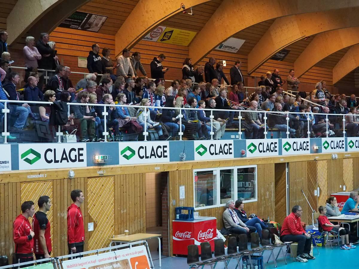 Gellersenhalle Fans Clage Reppenstedt