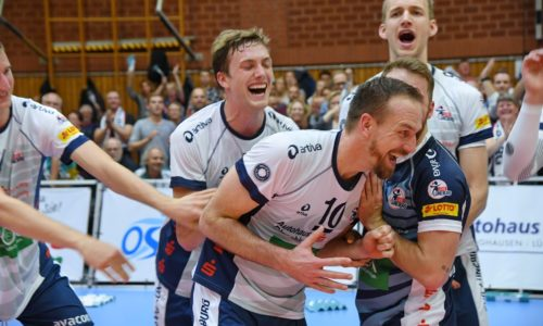 foto:Michael Behns SVG Lüneburg gegen Düren Volleyball Bundesliga