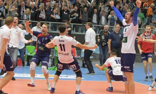 DBehns SVG gegen Berlin Recycling Volleys 3:2
