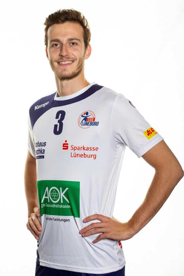 SVG Lüneburg Media Day 2020_2021Volleyball Bundesliga SVG Lüneburg Teamfoto Leon Dervisaj
