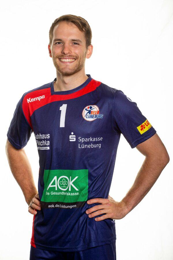 SVG Lüneburg Media Day 2020_2021Volleyball Bundesliga SVG Lüneburg Teamfoto Tyler Koslowsky