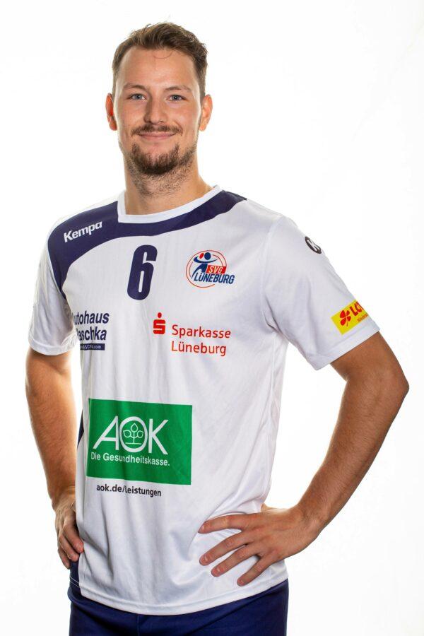 SVG Lüneburg Media Day 2020_2021Volleyball Bundesliga SVG Lüneburg Teamfoto Viktor Lindberg
