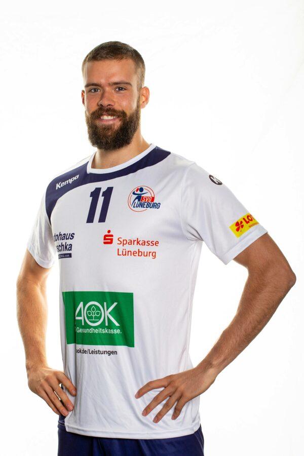SVG Lüneburg Media Day 2020_2021Volleyball Bundesliga SVG Lüneburg Teamfoto Dalton Solbrig